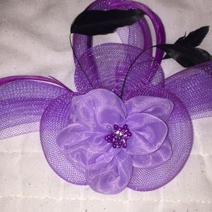 Prince- Royal Purple Rain Headwear or Pin